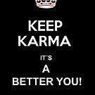 keep karma by Loui  Jover