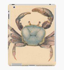 Vintage Mangrove Crab Illustration (1902)  iPad Case/Skin