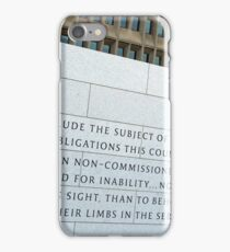 George Washington On Disabled American Veterans iPhone Case/Skin