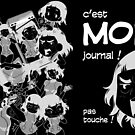 « 8-OPTIONS.COM - FR - MON JOURNAL A5 - NOIR - 10 $ pour auteurs » par 8options
