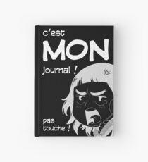 8-OPTIONS.COM - FR - MON JOURNAL A5 - NOIR - 10 $ pour auteurs Carnet cartonné