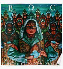 Blue Öyster Cult - Fire of Unknown Origin Poster