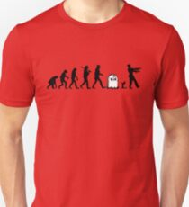 Human to Zombie Evolution T-Shirt