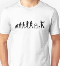 Human to Zombie Evolution T-Shirt