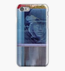 The Lone Soldier At The Disabled American Veterans Memorial iPhone Case/Skin