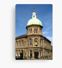 Leith Corn Exchange: To Let Canvas Print