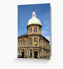 Leith Corn Exchange: To Let Greeting Card