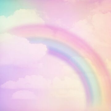 Pastel Rainbow by prettycritters