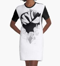 NYC Madness Graphic T-Shirt Dress