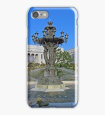 Bartholdi Park Fountain -- A Sister Of The Statue Of Liberty iPhone Case/Skin