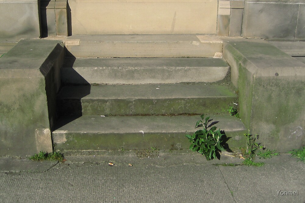 Steps in Leith by Yonmei