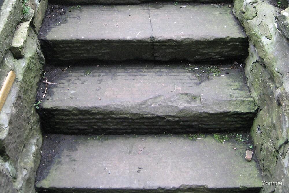 Old Stairs, Edinburgh by Yonmei