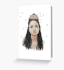 Queen of the Hive Greeting Card