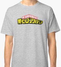 My Hero Academia Logo Classic T-Shirt