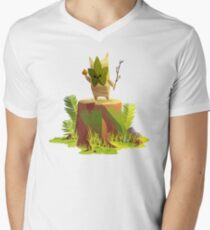 Korok, BoTW Men's V-Neck T-Shirt