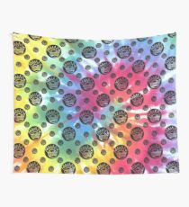 tie dye boognish Wall Tapestry