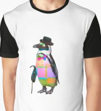 Techno Penguin Graphic T-Shirt