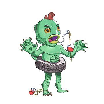 Creature by TheArtofRuff