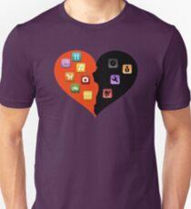 Love Vs Hate - Apps T-Shirt