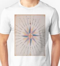 Vintage Compass Rose Diagram (1773)  Unisex T-Shirt