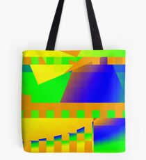 Italian landscape with Aqueducts Tote Bag