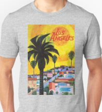 Los Angeles, original travel vintage poster, 1954 T-Shirt