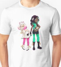 Splatoon Off The Hook Pearl and Marina (No Background) Unisex T-Shirt