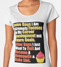 Career Mom's Quote Women's Premium T-Shirt