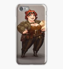 Lady Calpurnia Oxboxer iPhone Case/Skin