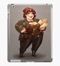 Lady Calpurnia Oxboxer iPad Case/Skin