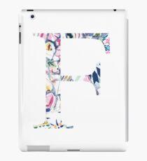 Gaudi Barcelona Mosaic Letter F iPad Case/Skin