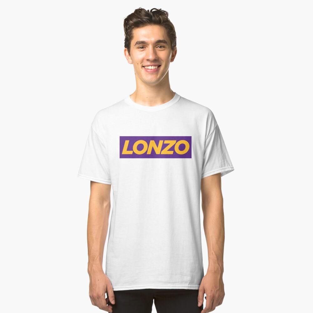 LONZO. Classic T-Shirt Front