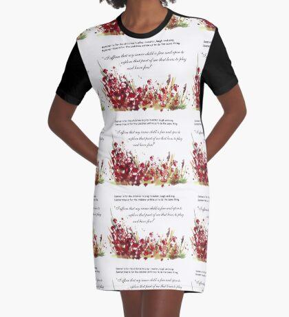Bestätigung für mein inneres Kind T-Shirt Kleid