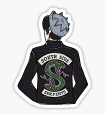 Jughead Jones Riverdale Southside Serpents Sticker