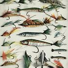 1920's Fishing Flies by PictureNZ