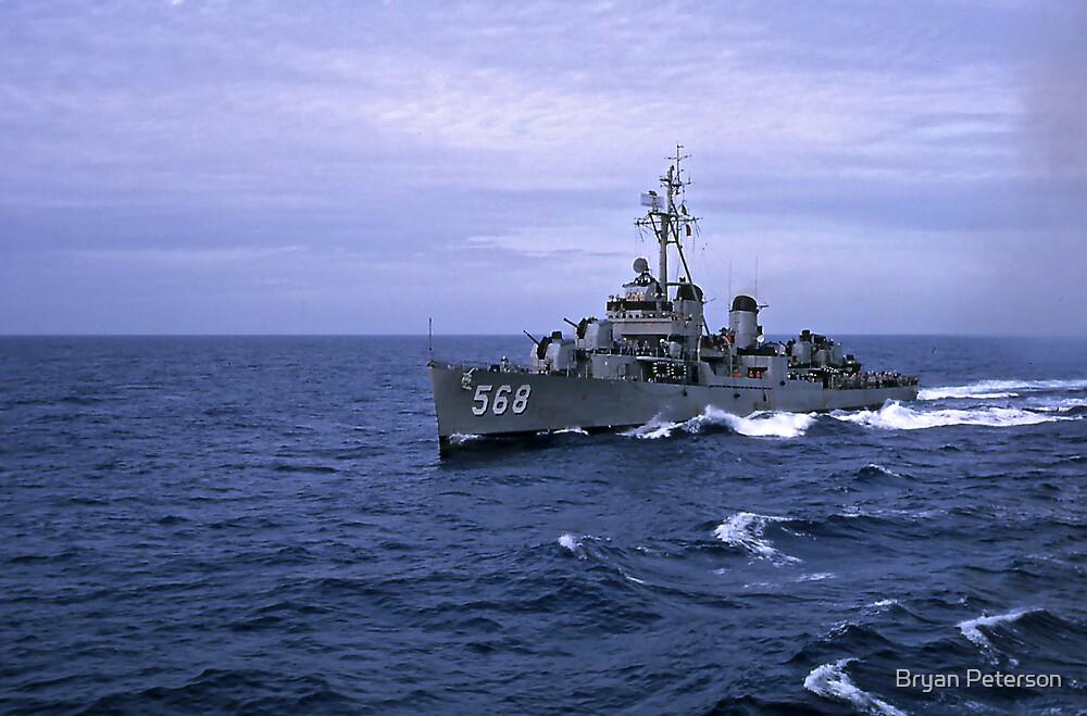 USS Wren DD 568 by Bryan Peterson