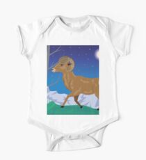 Wild Ram in Mountains Kids Clothes