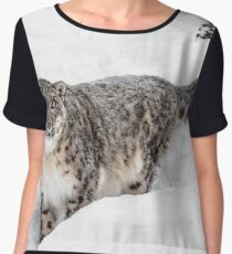 Stare Down Women's Chiffon Top