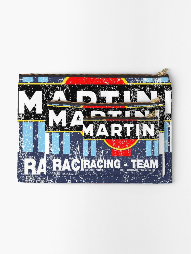 Alternate view of martini racing Zipper Pouch