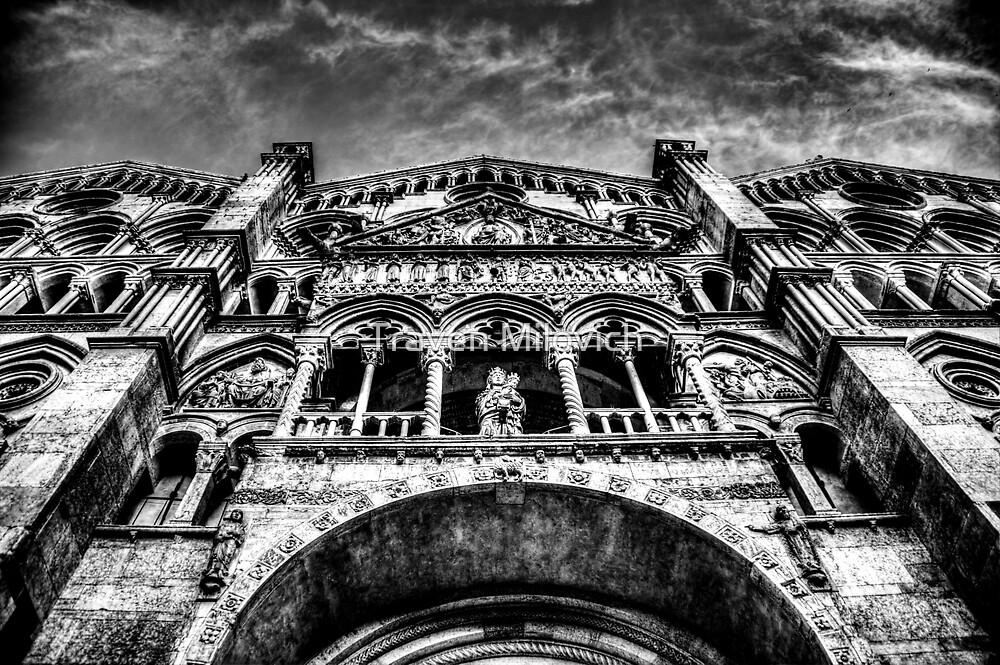 Ferrara Cathedral by Traven Milovich