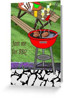 Invitation to a BBQ Party (1510  Views) by aldona