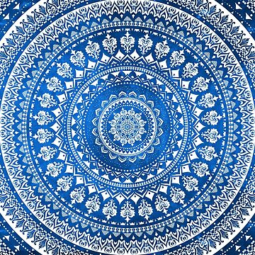Mandala Blue by Echolite