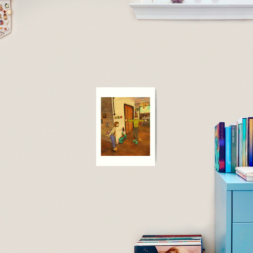 I'm home Art Print