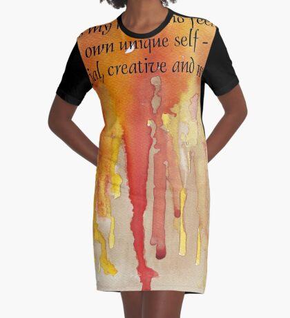 Bestätigung für SELBSTBEWUSSTSEIN T-Shirt Kleid