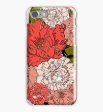 Pink Flower Punch iPhone Case/Skin