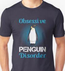 Cute Obsessive Penguin Disorder T-Shirt T-Shirt