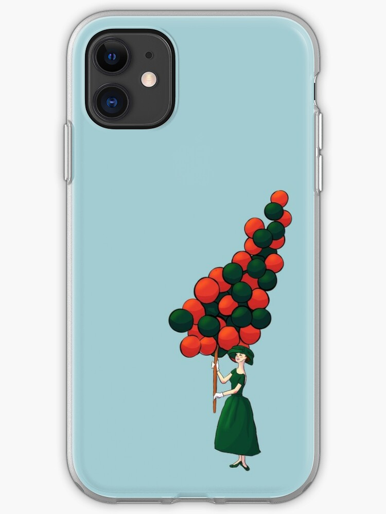 Glowy bosque forest floral pattern iphone 11 case