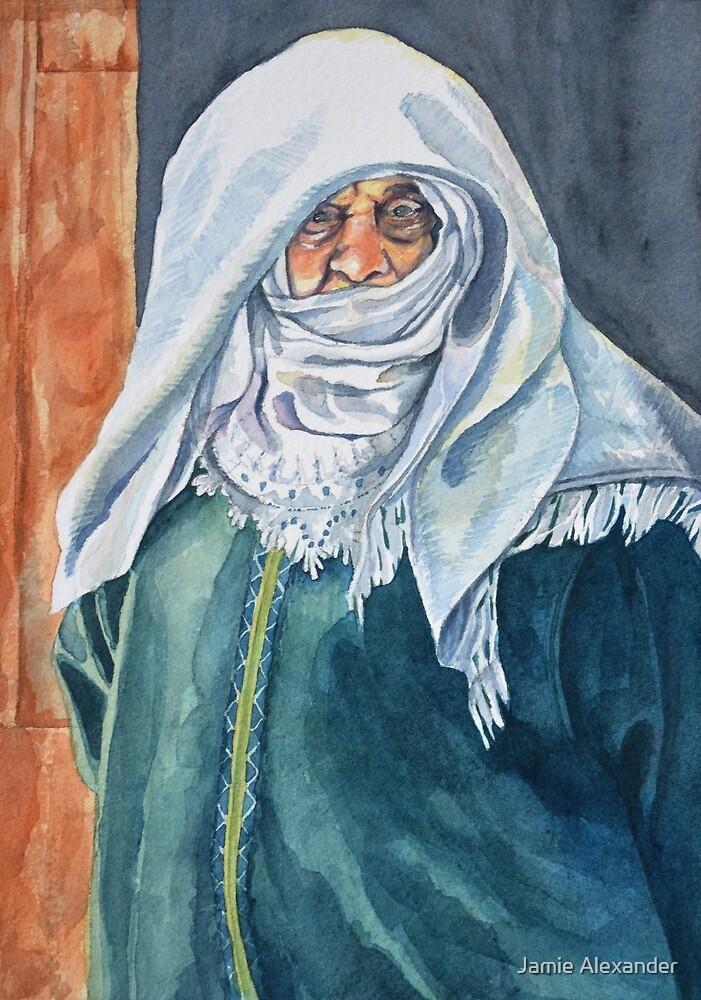 Wisdom behind her veil by Jamie Alexander