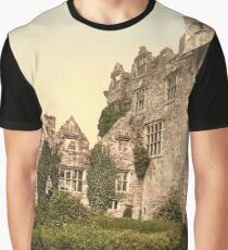 Vintage Photo-Print of Donegal Castle (1900) Graphic T-Shirt