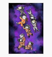 Space Kids  Photographic Print